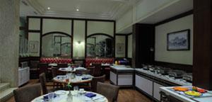 Multicuisine dining at Regency Hotel